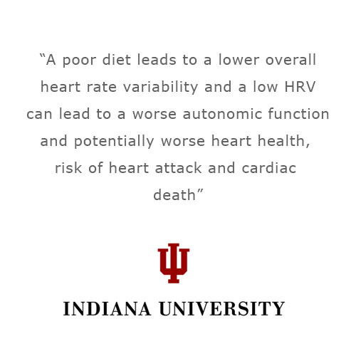 Indiana university heart rate variability